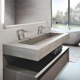 Custom Concrete Sinks