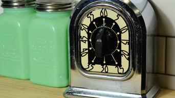 Vintage & Antique Items in a Modern Kitchen
