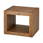 End Table Reclaimed Natural