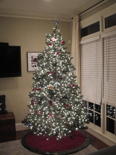 How To Put Lights On A Christmas Tree Houzz