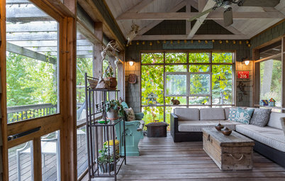 5 Cozy Outdoor Rooms Full of Charm