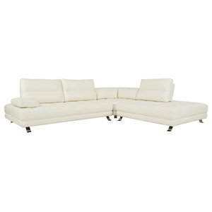 Fantastic Rebecca Leatherette Reversible Sectional Sofa With Ottoman Pdpeps Interior Chair Design Pdpepsorg