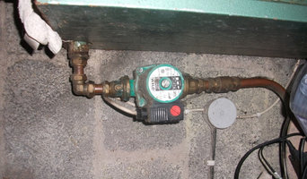 plumbing and heating old boiler repair