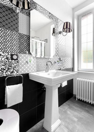 Salle de bains de la semaine un relooking tr s art d co for Art et decoration salle de bain