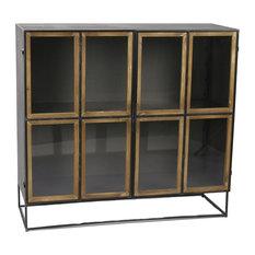 Structure Horizontal Mango Wood Display Cabinet