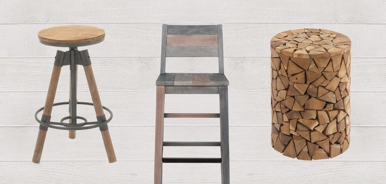 & Shop Houzz: Up to 60% Off Rustic Wood Stools islam-shia.org