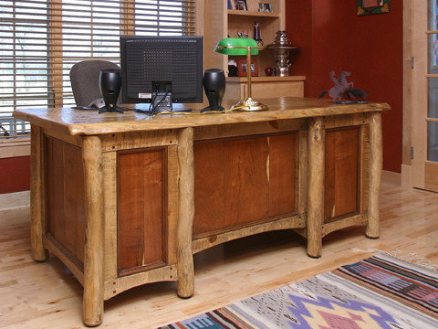 Arizona Ranch Collection   Rustic Western Style Furniture   Desks And  Hutches