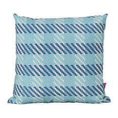 GDF Studio Marquis Outdoor Water Resistant Square Pillow, Single