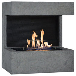 Contemporary Fireplaces by Ruby Fires