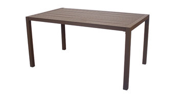 Outdoor Medium Palma Dining Table, Bronze