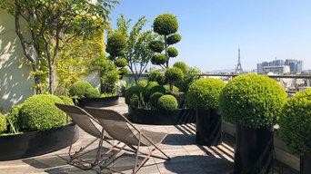 Terrasse parisienne de 220m2