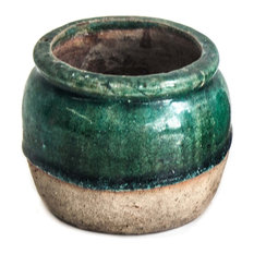 Turquoise Cricket Pot