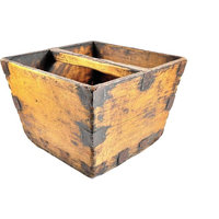 Large Antique Chinese Rice Bucket