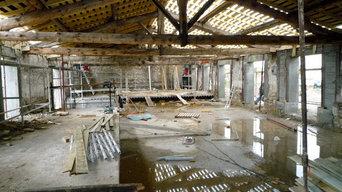 Transformation d'une cave viticole en habitation