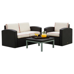 Cute Contemporary Outdoor Lounge Sets by Strata Furniture