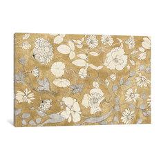 """Floral Joy II"" Print by All That Glitters, 60""x40""x1.5"""