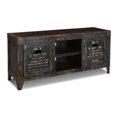 Charmant Crafters And Weavers   Reclaimed Wood Graffiti TV Stand Entertainment  Console   Entertainment Centers And Tv