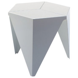 Good Traditional Side Tables And End Tables Vitra Prismatic Table White