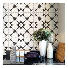 Jewel Tile Stencil, Cement Tile Stencils, DIY Faux Tiles , Large