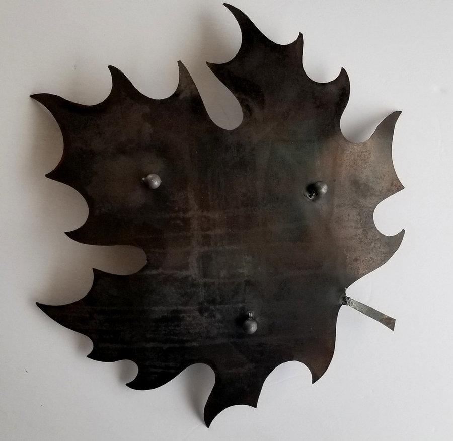 Canadian Maple Leaf - Bottom of Bowl