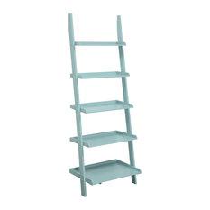 American Heritage Bookshelf Ladder, Sea Foam
