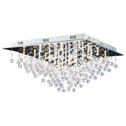 Contemporary Flush-mount Ceiling Lighting by Tomia Crystal Chandeliers