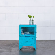 - Buy Carlos Bedside Tables/Side Table, Blue - Nightstands and Bedside Tables