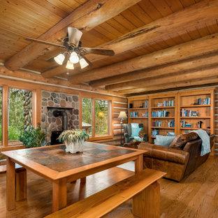 Woodland Log Home