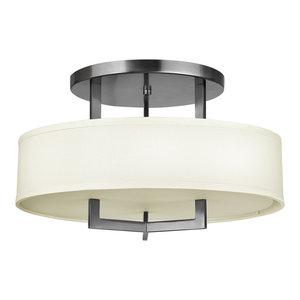 Hampton Transitional Semi-Flush Ceiling Light