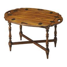 Butler Specialty Company   Butler Manchester Vintage Oak Butler Table    Coffee Tables