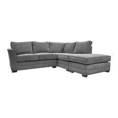 Albany Corner Sofa, Pewter, Left Hand