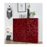 Prisma (red) 2 door cupboard