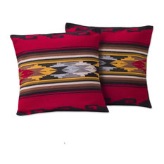 Red Sea Alpaca Blend Cushion Covers, Set of 2
