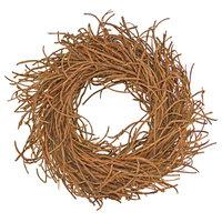"Rattan 24"" Wreath, Brown"