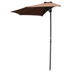 Contemporary Outdoor Umbrellas by International Caravan
