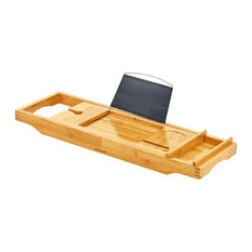 ToiletTree Products Deluxe Bamboo Bathtub Caddy