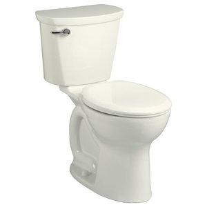 "Traditional 2 Piece Toilet, Linen, 17.38""x28.25""x30.38"""