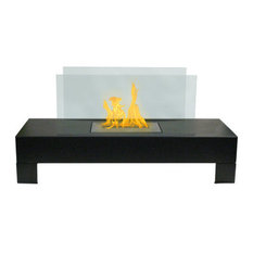 Double Sided Electric Fireplace | Houzz