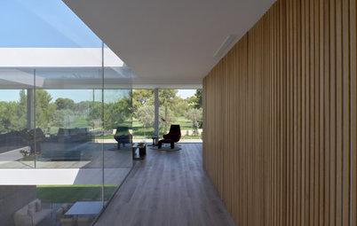 Casas Houzz: Una vivienda-mirador donde todo pasa dentro