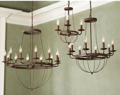 Unique Transitional Chandeliers by Ballard Designs