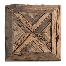 Luxe Rustic Pine Reclaimed Wood Wall Art