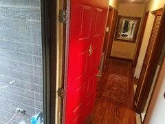 Hallway Laminate Flooring Door Jambs Houzz Au