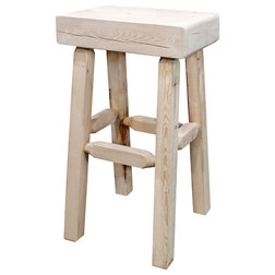 Rustic Bar Stools And Counter Stools by Montana Woodworks