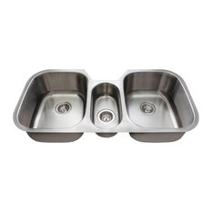 Kitchen Triple Bowl Stainless Steel Sink
