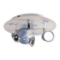 Infantil Ceiling Lamp, 3 Spotlights