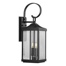 "Progress Lighting P560022 Gibbes Street 2 Light 22"" Tall Outdoor - Black"