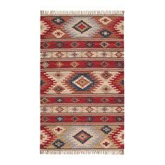 Kashi Wool Kilim Rug, Small