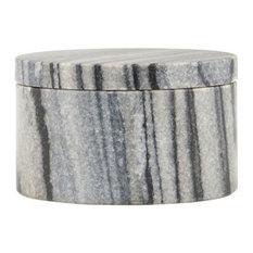 Grey Marble Pot