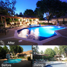 Before & After - Pool, Deck, Pavilion, Arbor & Landscaping