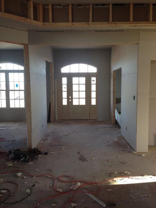 Front Door Is Not Centered In Foyer